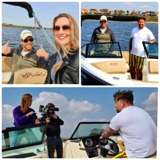 Another day at the....boat 🌞!! Today with @theojanssen1981 #vitesse #promotion #marketingdigital #marketing #vitessearnhem #tripledouble #searay #voetbal #geldersebootverhuur #camera #shoot #photoshoot #Arnhem